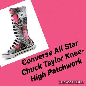 Converse All Star Chuck Taylor kneeHigh Patchwork